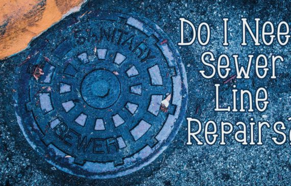 Signs that you need sewer line repair